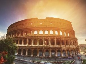 Sarah votre guide à Rome.