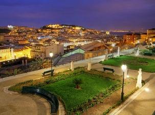 Lisbonne vue du haut