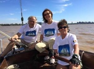 Regardez Buenaos Aires de la riviere de la Plata