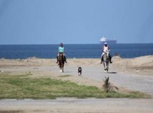 Veracruz, loin des touristes et à cheval!!