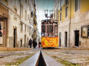 Promenade urbaine dans Lisbonne
