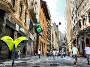 Decouvrez le centre-ville de São Paulo dans une promenade!